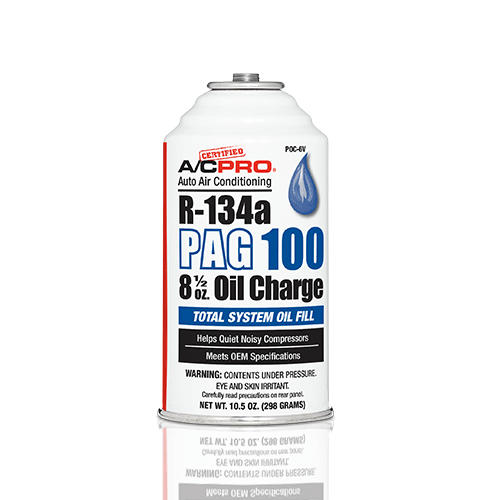 CERT104-1 | Certified AC Pro PAG Oil 100, 8 5oz System Oil